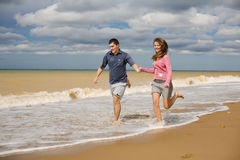 Couple at the sea Stock Image