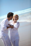 Couple by the sea Royalty Free Stock Photo