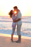 Couple on the  sea Stock Photography