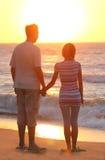 Couple on the  sea Royalty Free Stock Photo
