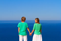 Couple on sea vacation Royalty Free Stock Photography