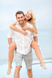 Couple at seaside Stock Photos