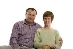 couple seated στοκ εικόνες