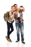 Couple self portrait Royalty Free Stock Images