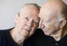 couple senior Στοκ εικόνες με δικαίωμα ελεύθερης χρήσης