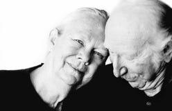 couple senior Στοκ φωτογραφίες με δικαίωμα ελεύθερης χρήσης