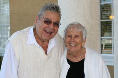 A couple of senior citizens Royalty Free Stock Photography