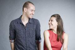 Couple sharing love Royalty Free Stock Photography