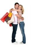 Couple shopping Royalty Free Stock Image