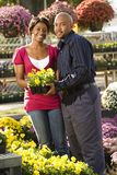 Couple shopping. Royalty Free Stock Photos