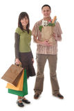 Couple shopping Royalty Free Stock Photography