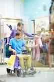 Couple shopping Stock Images