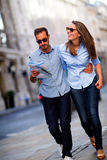 Couple sightseeing Stock Image