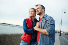 Couple sightseeing Royalty Free Stock Image