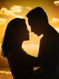 The Couple Silhouette Stock Photos