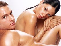 Couple skin. Stock Images