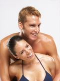 Couple skin. Royalty Free Stock Images