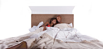 Couple sleeping Royalty Free Stock Photography