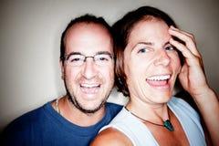 Couple Smiling Stock Photo
