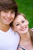 Couple smiling Royalty Free Stock Photo