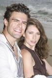 Couple smiling Royalty Free Stock Photos