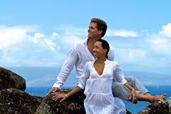 Couple Smiling Royalty Free Stock Image
