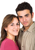 Couple smiling Stock Image