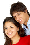 Couple smiling Royalty Free Stock Photos