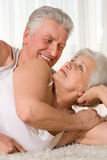 Couple smiling together Royalty Free Stock Photo