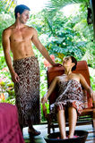 Couple At Spa Royalty Free Stock Image
