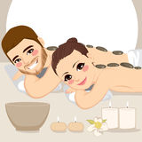 Couple Spa Treatment Royalty Free Stock Image