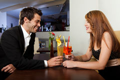 Couple spending time together stock photography