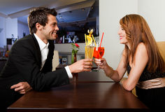Couple spending time together Royalty Free Stock Photography