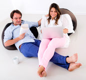 Couple spending time together Stock Photo