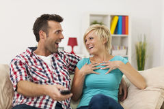 Couple spending time together Royalty Free Stock Photos