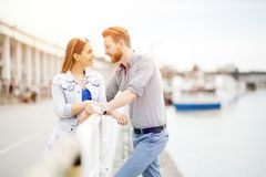 Couple spending time together royalty free stock image