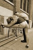 couple sporty Στοκ Εικόνα