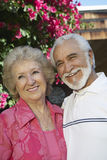 Couple Standing Outdoors Stock Photos
