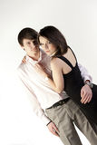 Couple standing together Stock Photography