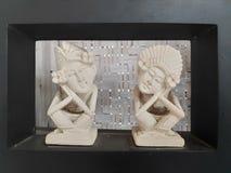 A couple statue bali royalty free stock photo