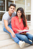 Couple of Students Royalty Free Stock Image