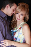 Couple in studio Stock Photo