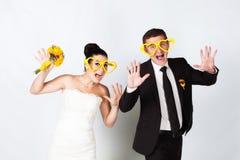 Couple in studio Royalty Free Stock Image