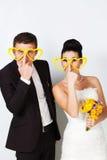 Couple in studio Stock Photography