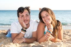 Couple in Summer time Royalty Free Stock Image