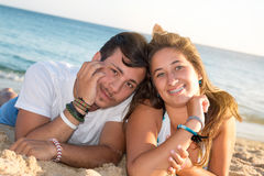Couple in Summer time Royalty Free Stock Images