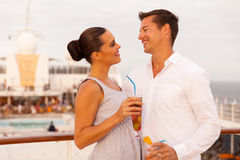 Couple summer vacation Stock Images