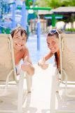A couple is sunbathing Royalty Free Stock Image