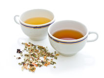Couple Tea Royalty Free Stock Images