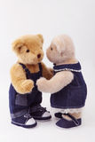 Couple of teddy bear Royalty Free Stock Image